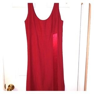 Red Harlow Dress